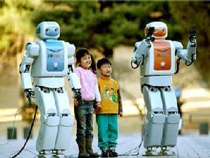 mahru dan ahra robot kembar milik Korea Selatan