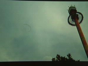 Gambar yang diduga UFO itu juga direkam dalam video yang ditayangkan oleh CNN